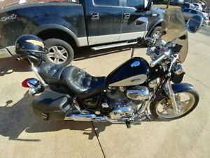 93 Yamaha Virago--low kms--wife says must sell!