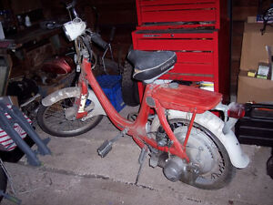 Looking for Honda P50 moped parts
