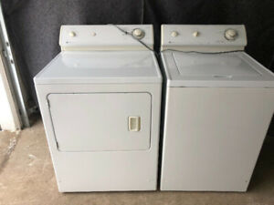 Maytag reliable top load washer gas dryer washing machine