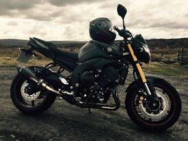 Immaculate FZ8 2014 800cc with extras