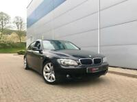 2008 08 reg BMW 730d Sport Black + Black leather + Nice Spec