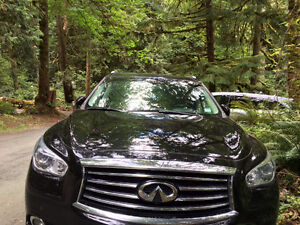 2013 infinit JX35 AWD, Driver Package Leather -