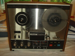 Vintage 1960's TEAC Reel To Reel Tape Recorder