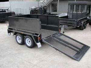 8x5 Plant Trailer - Drop Down Ramp - 2ft Panel Cage - Drop Ramp Thomastown Whittlesea Area Preview