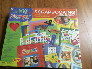 Brand new scrapbooking kit for 5 +, still in plastic