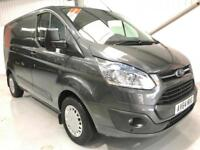 FORD TRANSIT CUSTOM TREND 125 BHP 2.2TDCi 125PS SWB L1H1 METALLIC GREY