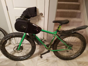 Pugsley Surly fat bike with 2 sets of tires