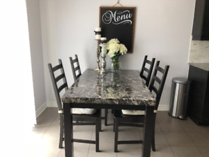Dining Set for Sale ( Table and 4 chairs)