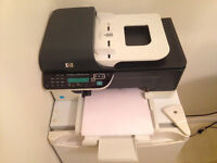 HP Printer/Scanner/Fax with new black and colour cartridge