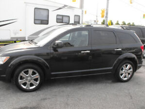 2010 JOURNEY RT AWD LEATHER SUNROOF 7 PASSENGER   100KM
