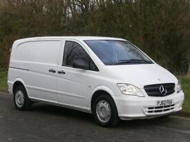 2012(62) Mercedes-Benz Vito 113CDI Euro 5, ONLY 59000miles!!!! FINANCE??