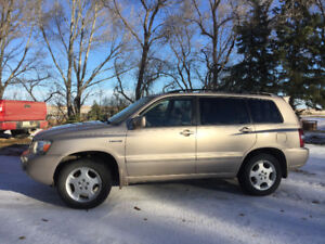2004 Toyota Highlander Limited SUV, Crossover