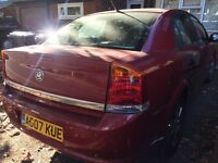Vauxhall Vectra 2007 for quick sale REDUCED PRICE