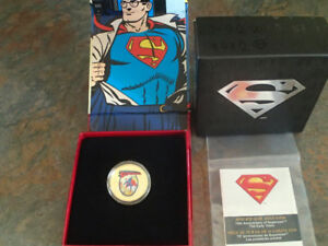 2013 from the Royal Canadian Mint first in the Superman series