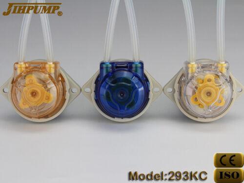 2-pk Low Cost Small Peristaltic Pump 24v DC Low Pressure Aquarium Nutrient Dose