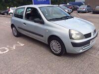 Renault Clio 1.2 petrol 2003 £500 Ono