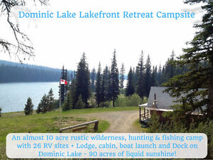 LAKEFRONT RECREATIONAL PROPERTY THAT PAYS!