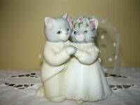 KittyCucumber wedding cake topper