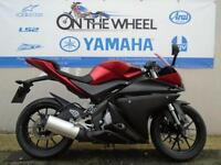 YAMAHA YZF-R125 RED/BLACK RIDE AWAY TODAY!
