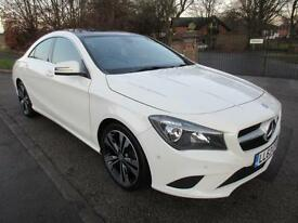 MERCEDES-BENZ CLA 220 2.1CDI 7G-DCT SPORT PANORAMIC SUNROOF STUNNING