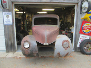 1940 ford cab and front clip
