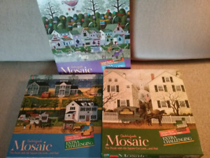 """New"" Charles Wysocki Vintage Puzzles ($5 Each)"