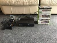 Xbox 360 with 20 games including gta 5.