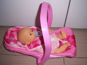 DOLL CARRIER / DOLL CAR SEAT