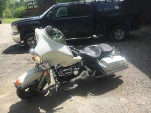 Ex police bike