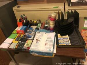Misc Lot of Stationary and Office Supplies