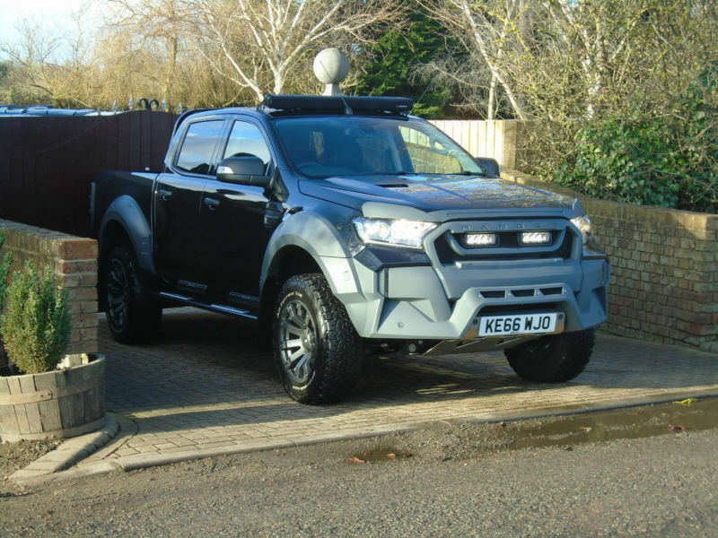 2017 ford ranger m sport 3 2tdci 200ps eu6 4x4 auto limited no vat 3000 miles in milton. Black Bedroom Furniture Sets. Home Design Ideas