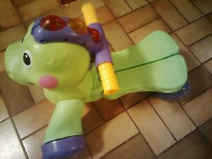 Fisher Price Ride On or Push Toy Dinosaur