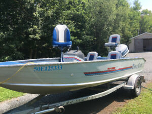 Boat for sale 90hp evinrude
