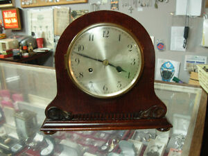 Circa-1920's Junghans Wurttemberg Mantle Clock Cambridge Kitchener Area image 1