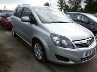 2013 Vauxhall Zafira 1.7 CDTi ecoFLEX Design [125] 5dr MPV Diesel Manual