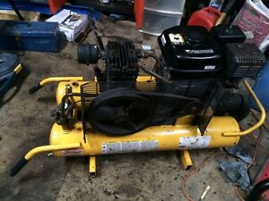 8.5Gal 5.5Hp Honda powered wheelbarrow air compressor