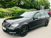 2014 Mercedes-Benz C Class 2.1 C220 CDI AMG Sport Edition (Premium) 5dr Estate D
