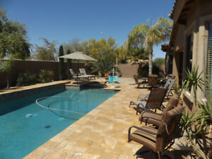 Beautiful AZ home/pool- ONLY AVAILABLE MID NOV - DEC 31/19