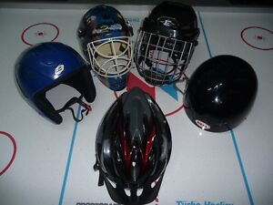 HELMETS (SKI,HOCKEY,CYCLING) starting at $5.00