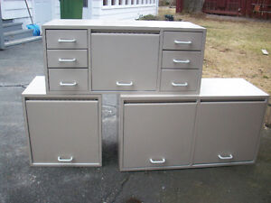 cabinets in good condition