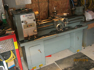 KIng 12x36 metal lathe with all the accesories