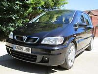 Vauxhall Zafira 1.8i 16v SRi 72,916 Miles From New Full Service History.