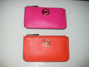 MICHAEL KORS MK SMALL key pouches all new GIFTS with tags