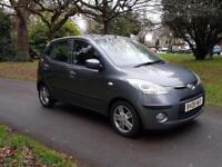 2009 Hyundai i10 1.2 Style AIR-CON, £30 TAX, HEATED SEATS £1995 SALE