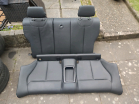 BMW F22 M Sport Black Leather Front and Rear Seats with Door Cards