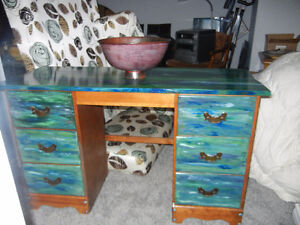 Refurnish, recycle, furniture finds and small paint jobs