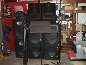 COMPLETE SOUND SYSTEM FOR SALE
