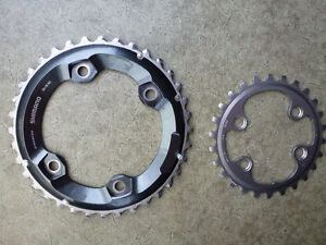 Shimano XTR NEW chainrings 36/26 11speed
