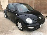 Volkswagen Beetle 1.8 Turbo, Female Owned, 8 Service Stamps, Alloys 12 Month Mot, 3 Month Warranty