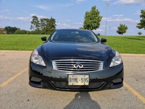 (Rare) Black on Black 6-Speed G37 S Coupe! Low km